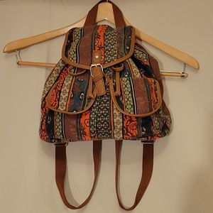 Boho Mini-Backpack